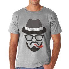 De descuento 2016 nueva moda de verano camiseta de los hombres del algodón del o-cuello cómodo homme de manga Corta Impresión camiseta de la camiseta Ocasional M-5XL