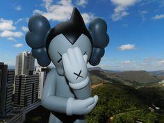 Astro Boy grey - KAWS
