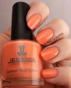Jessica Custom Colour new Spring shade Monsoon Melon.