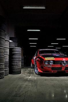 Stunningly atmospheric Alfa Romeo #alfaromeogtv6