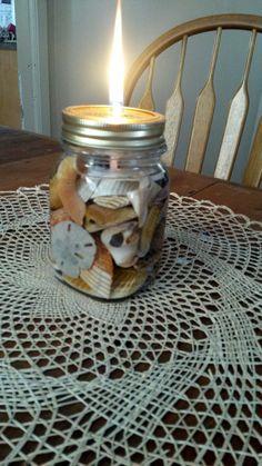 Mason Jar Oil Lamps by TwoDogsandaTeacher on Etsy
