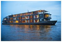 Enjoy a 3,4 or 7 night Amazon River luxury cruise on the Aria Amazon custom-designed cruiseship to the Pacaya Samiria National Reserve with Aqua Expeditions.