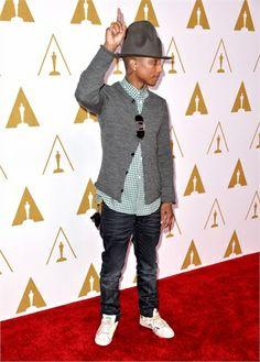 Pharrell William , nominees luncheon 2014