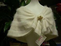 Vintage Capelet knit pattern by StevenBe