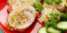 Plnené morčacie mäso