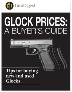 Glock Prices: Tips for Buying a Used Glock (FREE DOWNLOAD)  A used Glock can have a great deal of useful life left in it, provided it was well-cared for by the previous owners. This FREE download will help you understand Glock pricing and conditions to help you make a wise purchase.