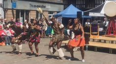 @zulutradition The fabulous Zulu Tradition at Beats and Bells in Shrewsbury. June 2015. Hosted by Shrewsbury Morris Twitter web player