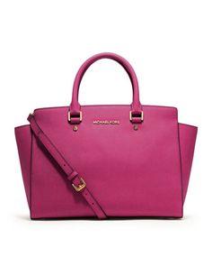 Michael Kors Selma Tote in Pink (Zinna)