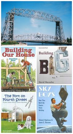 Tap into your child's architectural creativity with these great reads & fun activities!