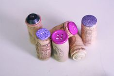 Button Stamps - how clever is this?