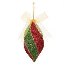 Nicole™ Crafts Glitter Mache Ornament