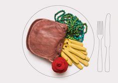 "creative shot of ""food"" aka accessories Tapas, Creative Shot, Photographic Studio, Small Plates, Food Design, Set Design, Brand Packaging, Food Art, Fun Food"
