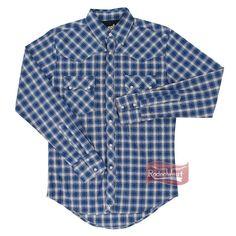 926c0d0e9e Camisa Masculina Manga Longa Xadrez - Wrangler 20X X69.3P.3L.40  Homens