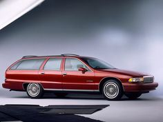 1991 Chevrolet Caprice Classic wagon - Yes, it's a whale, but imagine the total…