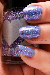Rainbow Honey The Worst Possible Thing #mylittlepony #mlp #nailpolish #themed #glitter #beauty
