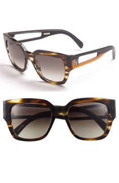 7866151296 Fendi Retro Sunglasses available at  Nordstrom Italian Sunglasses