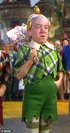 The Wizard of Oz ~ Jerry Maren, one of the Lollipop Guild munchkins, is the only surviving munchkin as of his 94th birthday on January 24, 2014