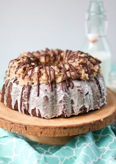 German Chocolate Bundt Cake Picture