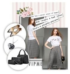 """""""VIPME 27"""" by melisa-hasic ❤ liked on Polyvore featuring Jimmy Choo, women's clothing, women, female, woman, misses, juniors and vipme"""