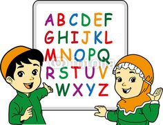 islamic kids vector - Carian Google                                                                                                                                                      More