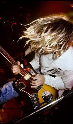 Kurt Cobain Astoria Theatre, London, UK, 1991.