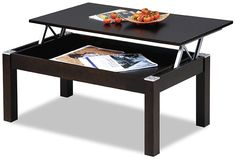 Cota-18 Lift Top Coffee Table With Storage