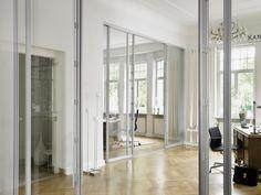 Combination sliding door S3000 and room divider S1500