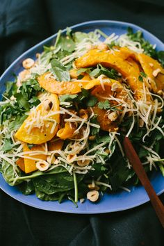 Maple Roasted Squash and Lentil Salad