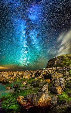 Night Sky - Orchard Bay, Isle of Wight
