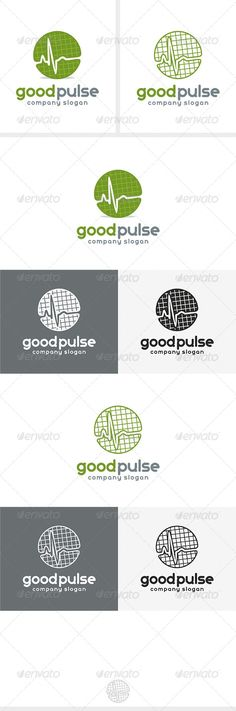 Good Pulse Logo #GraphicRiver Fully