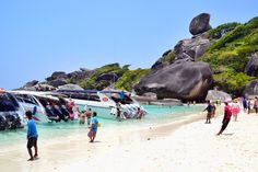 The Similan Islands - the Most Beautiful National Park