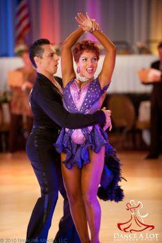 Adriana and Georgi dancing the Samba