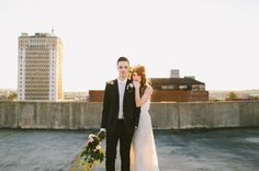 Industrial Indoor Wedding Inspiration