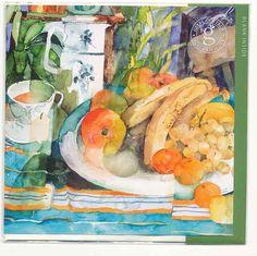 Large plate of fruit BLGL17
