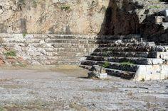 Gradas del Telesterion Santuario de Eleusis