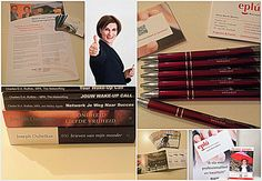 Banners, check - Business cards, check - Books I translated and edited,  check -  Flyer #thenetworkingacademy , check - Leaflets #senzumbrellas , check - EPLÚ pen give aways,  check, so all prepared for tonight's event of ‪ #thenetworkclub , where I will be present to network and to promote myself and my business!! #eplumanagementsupport