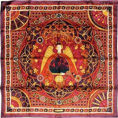 hermes scarf lumiere de paris -