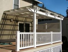 covered deck ideas pictures | Designs-a-Deck-Cover | Deck Ideas