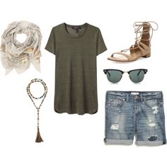 Untitled #170 by talubo on Polyvore featuring Isabel Marant, Madewell, Stuart Weitzman, Hipchik, Sophie Darling and Ray-Ban