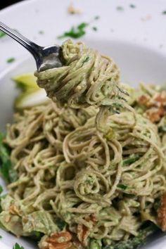 Creamy Avocado Noodles