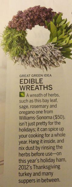 Herb Wreaths - Gift?