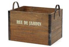 One Kings Lane - Country Kitchen - Rue De Jardin Crate