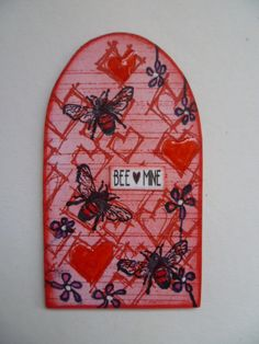 Stampotique - Valentine beehive