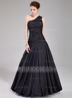 Prom Dresses - $149.99 - A-Line/Princess One-Shoulder Floor-Length Taffeta Prom Dress With Ruffle (018022534) http://jjshouse.com/A-Line-Princess-One-Shoulder-Floor-Length-Taffeta-Prom-Dress-With-Ruffle-018022534-g22534?ver=xdegc7h0