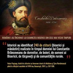 Constantin Brâncoveanu - Voievod al Țării Românești Romanian Flag, Orthodox Icons, Sf Constantin, Motivational, Romania