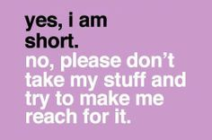 Life Struggles : theBERRY. Short people problems.