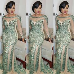65 Inspiring Cordlace Aso ebi Styles for Beautiful Women - iFashy African Lace Styles, African Lace Dresses, African Fashion Dresses, African Style, African Attire, African Wear, African Women, Nigerian Dress, Aso Ebi Styles