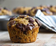This recipe for Pumpkin Chocolate Chip Lactation Muffins is delicious! Perfect for nursing moms + list of foods that support breastfeeding.