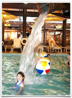 Rocking Horse Ranch (Upstate NY)--with spa, indoor water park and kids' program