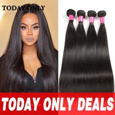 4 Bundles Mink Brazilian Virgin Hair Straight Brazilian Hair Weave Bundles 10A Grade Virgin Brazilian Straight Human Hair Weave -  http://mixre.com/4-bundles-mink-brazilian-virgin-hair-straight-brazilian-hair-weave-bundles-10a-grade-virgin-brazilian-straight-human-hair-weave/  #HairWeaving